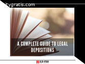 A Complete Guide to Legal Depositions