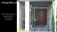 Affordable Security Doors