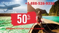 Allegiant Airlines Low Fare Calendar +1