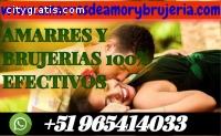 AMARRES Y BRUJERÍAS 100% EFECTIVOS