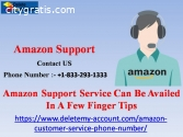Amazon Support Service Can Be Availed In