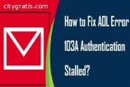 AOL Error 103A Authentication Stalled