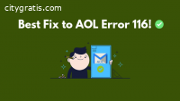AOL Error 116