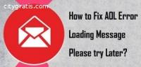 Aol Error Loading Message Please Try Lat