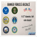 Armed Force Decals