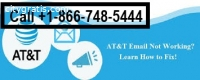 AT&T Email Not Working? Call  +1-866-748