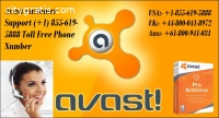 Avast customer Support (+1) 855-619-5888