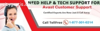 Avast Tech Support Number +1-8773010214