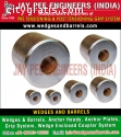 Barrels and wedges Manufacturers Supplie