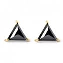 Black Diamond Earring for Men
