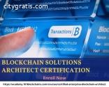 Blockchain Solutions Architect Certifica