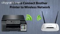 brother lc61 printer wireless setup