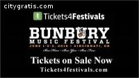 Bunbury Music Festival Tickets