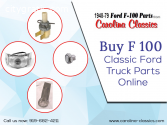 Buy F 100 Classic Ford Truck Parts Onlin