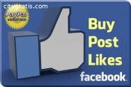Buy Genuine Facebook Post Likes