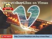 Buy Likes on Vimeo