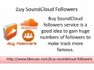 Buy SoundCloud Followers Cheap