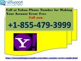 Call at Yahoo Phone Number