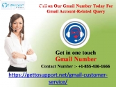 Call on Our Gmail Number Today For Gmail