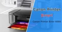 Canon Printer Error 6000 - Easy Solution
