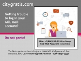 Change AOL Email Password +18662575356