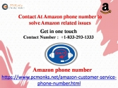 Contact At Amazon phone number to solve