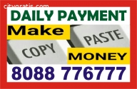 Copy paste work make income | 808877677