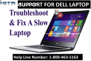 Dell Computer is Slow? Call 800-463-5163
