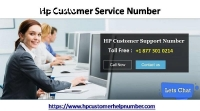 Dial Hp Customer Service Number