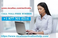Dial Our www.mcafee.com/activate