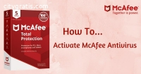 Download, Install and Activate Mcafee