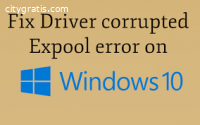 Driver corrupted expool windows 10
