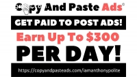 Earn up to $300 per day. 5 people needed