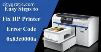 Fix HP Printer Error Code 0x83c0000a