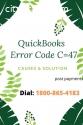 Easy way to Fix QuickBooks Error Code C=