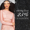 Enjoy 25% off this holiday with Indiq