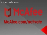 Enter your code - McAfee Activate
