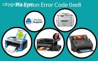 Epson Printer Error Code 0xe8 - Solved