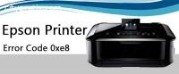 Epson Printer Error Code 0xe8