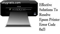 Epson Printer Error Code 0xf3