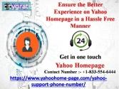 Experience on Yahoo Homepage