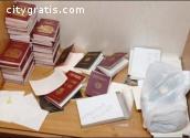 Fake Passports , Real Passports  online