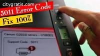 Fix Canon printer error 5011