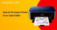 Fix Canon Printer Error Code 5200