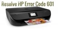 Fix HP Error Code 601 In Two Easy Method
