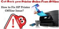 Fix HP Printer Offline Windows 10