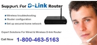 fix Internet problem with D-link Support