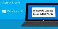 Fix Windows Update Error 0x80073712