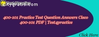 Free 400-101 Practice Test Questions (PD