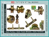 Gate Pulley / Gate Track Wheels and Fanc